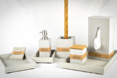 Quarzsand für die Fertigung von Betongegenständen - Betonmanufaktur Gutmann Design